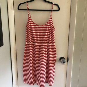 J. Crew striped sun dress